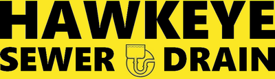 hawkeye sewer and drain logo